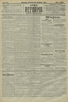 Nowa Reforma (wydanie popołudniowe). 1914, nr572