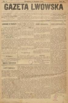 Gazeta Lwowska. 1901, nr1