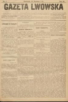 Gazeta Lwowska. 1901, nr7