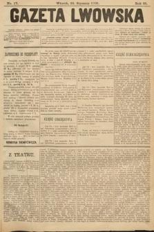 Gazeta Lwowska. 1901, nr17