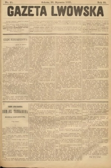Gazeta Lwowska. 1901, nr21