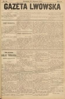 Gazeta Lwowska. 1901, nr22