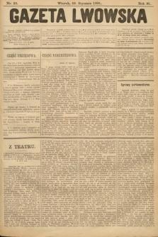 Gazeta Lwowska. 1901, nr23