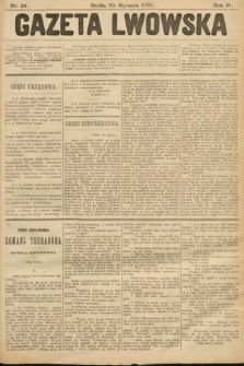 Gazeta Lwowska. 1901, nr24