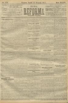 Nowa Reforma (wydanie poranne). 1917, nr378