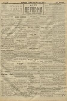 Nowa Reforma (wydanie popołudniowe). 1917, nr379