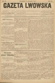 Gazeta Lwowska. 1901, nr25