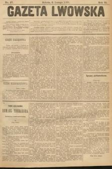 Gazeta Lwowska. 1901, nr27