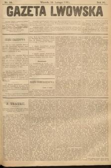 Gazeta Lwowska. 1901, nr34