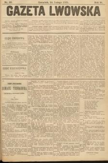 Gazeta Lwowska. 1901, nr36