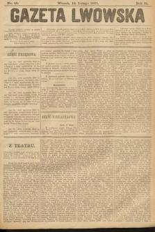 Gazeta Lwowska. 1901, nr40