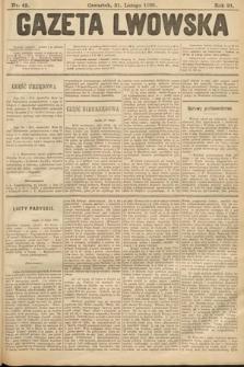 Gazeta Lwowska. 1901, nr42