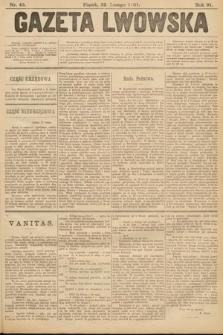 Gazeta Lwowska. 1901, nr43