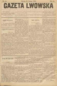 Gazeta Lwowska. 1901, nr44