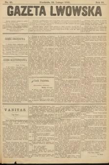 Gazeta Lwowska. 1901, nr45