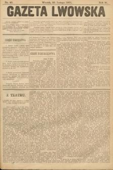 Gazeta Lwowska. 1901, nr46
