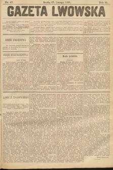 Gazeta Lwowska. 1901, nr47
