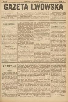 Gazeta Lwowska. 1901, nr48