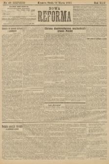 Nowa Reforma. 1923, nr40