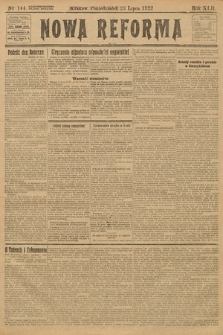 Nowa Reforma. 1923, nr144