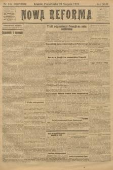 Nowa Reforma. 1923, nr167