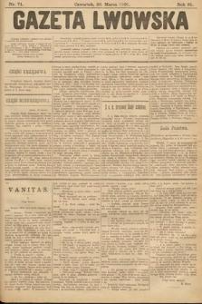 Gazeta Lwowska. 1901, nr71