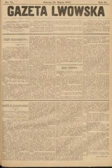 Gazeta Lwowska. 1901, nr73
