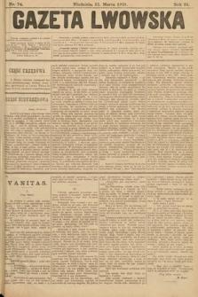 Gazeta Lwowska. 1901, nr74