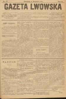 Gazeta Lwowska. 1901, nr77