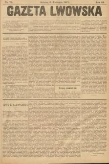 Gazeta Lwowska. 1901, nr79