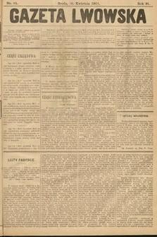 Gazeta Lwowska. 1901, nr81