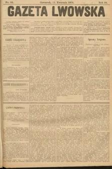 Gazeta Lwowska. 1901, nr82