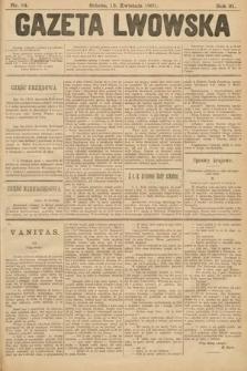 Gazeta Lwowska. 1901, nr84