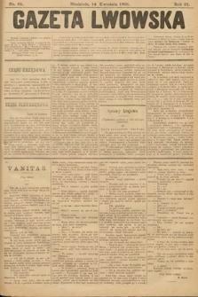 Gazeta Lwowska. 1901, nr85
