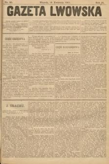 Gazeta Lwowska. 1901, nr86