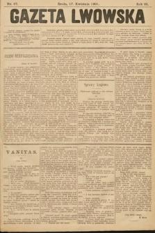Gazeta Lwowska. 1901, nr87