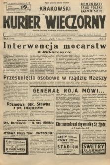 Krakowski Kurier Wieczorny : niezależny organ demokratyczny. 1938, nr6 (289)