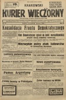 Krakowski Kurier Wieczorny : niezależny organ demokratyczny. 1938, nr19