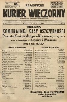 Krakowski Kurier Wieczorny : niezależny organ demokratyczny. 1938, nr21
