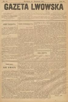Gazeta Lwowska. 1901, nr91
