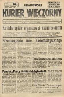 Krakowski Kurier Wieczorny : niezależny organ demokratyczny. 1938, nr34