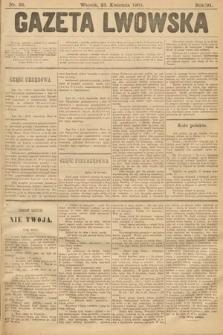 Gazeta Lwowska. 1901, nr92