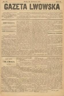 Gazeta Lwowska. 1901, nr93