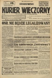 Krakowski Kurier Wieczorny : niezależny organ demokratyczny. 1938, nr47