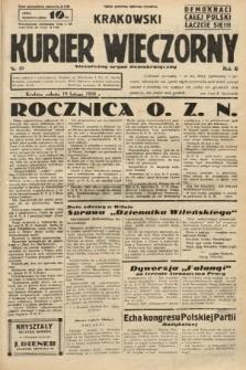 Krakowski Kurier Wieczorny : niezależny organ demokratyczny. 1938, nr49