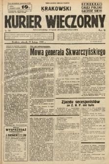Krakowski Kurier Wieczorny : niezależny organ demokratyczny. 1938, nr52