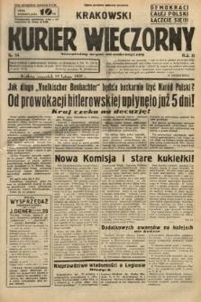 Krakowski Kurier Wieczorny : niezależny organ demokratyczny. 1938, nr54