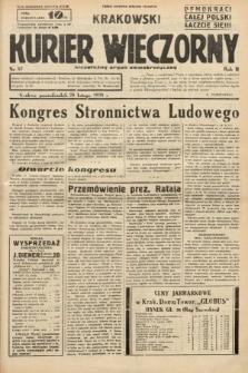 Krakowski Kurier Wieczorny : niezależny organ demokratyczny. 1938, nr57