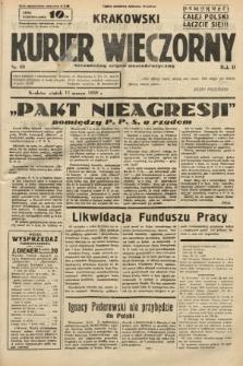 Krakowski Kurier Wieczorny : niezależny organ demokratyczny. 1938, nr69