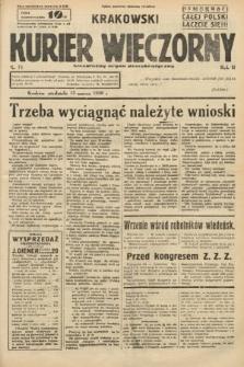 Krakowski Kurier Wieczorny : niezależny organ demokratyczny. 1938, nr71